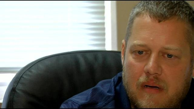 Casey Davis, the Casey Count Clerk, says his conscience won't allow him to issue marriage licenses.