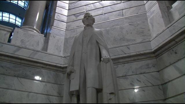 Right now, the state Historic Properties Advisory Commission is collecting public comment on its website as to the future of the statue.
