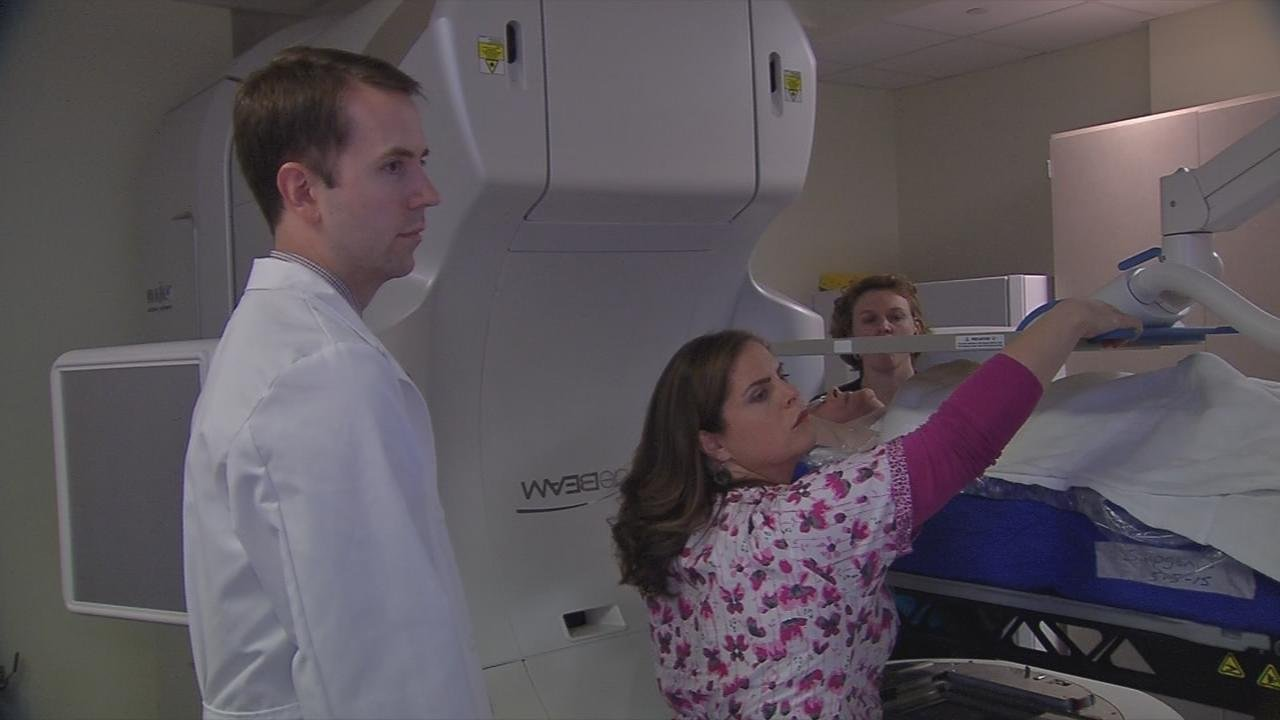 James Graham Brown Cancer Center just became the first in the nation to use a cutting edge treatment.  It's giving doctors, for the first time, a clear shot at curing liver cancer without surgery.