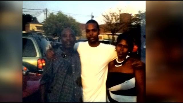 Family members have identified the victim as James Moore, but he was known as Toody (Left).