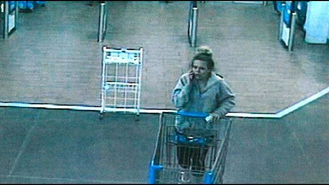 Police are looking for three people accused of going on shopping sprees with stolen credit cards and they need your help identifying them.