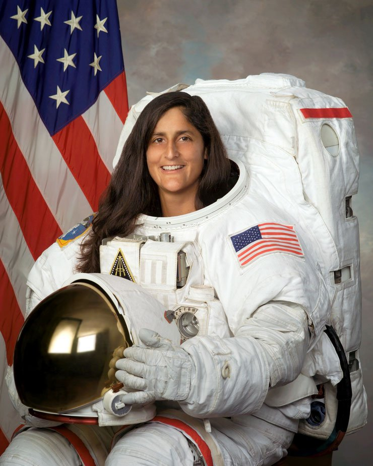 Sunita Williams (Source: NASA)