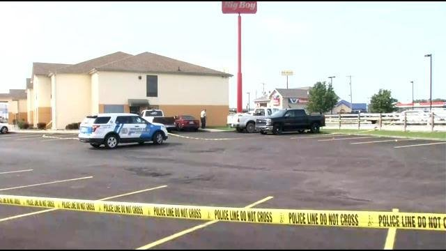A man was shot and left to die in the parking lot of the Super 8 Hotel in Shepherdsville on July 10, 2015.
