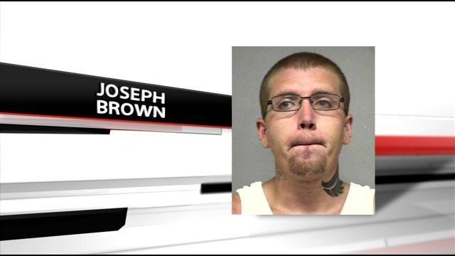 Joseph Brown is charged with rape, battery and criminal confinement.