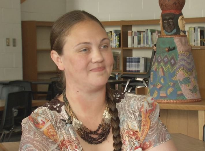 Jennifer Nelson, a JCPS teacher who helped create the idea behind the Catalpa School at Maupin Elementary.