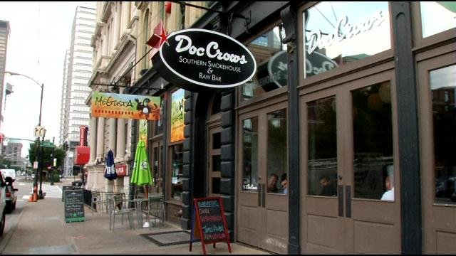Business is still slow for some of the restaurants after last week's fire.