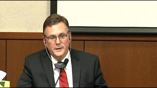 Scott Quisenberry testified during his rape trial that he married a former student.