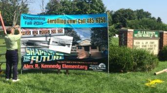 Alex R. Kennedy Elementary School (Photo by Toni Konz, WDRB News)