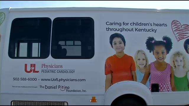 This van that carries U of L cardiac specialists across the state to see sick children will soon be replaced by a newer van.