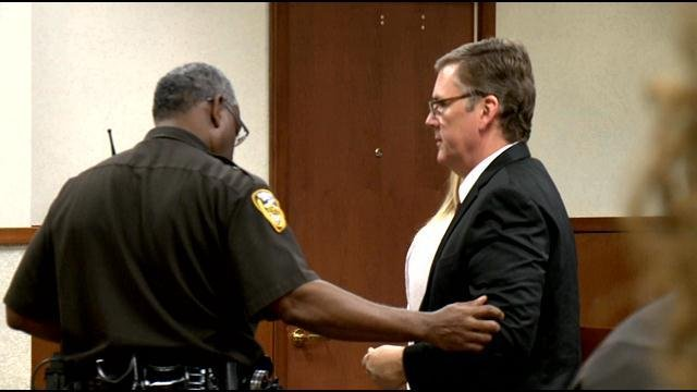 Scott Quisenberry was found guilty of three counts of rape and four counts of sodomy Monday afternoon.