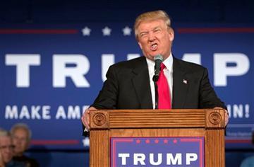 (AP Photo/Stephen B. Morton). Republican presidential hopeful Donald Trump.