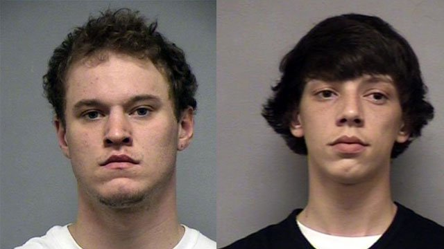 Andrew McAllister and Carmon Tussey (Source: Louisville Metro Corrections)