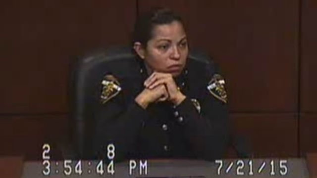In court video dated July 21, Officer Liliana Hernandez admitted to defense attorney Paul Gold that she lied when she said under oath his client had refused a breathalyzer test.