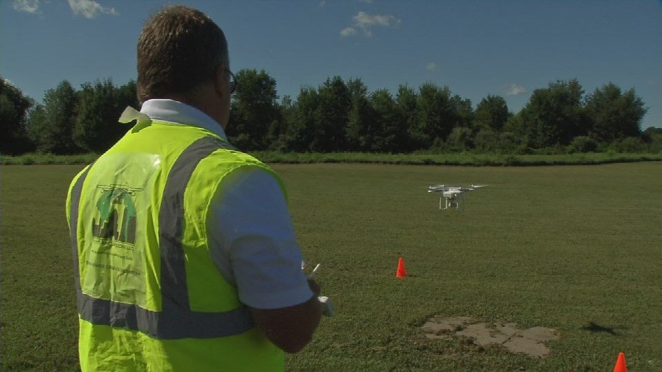 Bryan Cherry says a number of different businesses have begun to use drones for legitimate purposes.