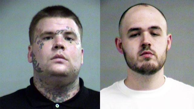 John Philpott and William L. Hall II (Source: Louisville Metro Corrections)