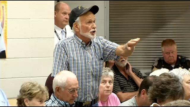 Many farmers in Clark County say they can't afford a school improvement referendum up for a vote in November.