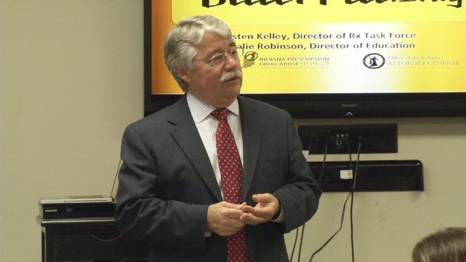 Indiana Attorney General Greg Zoeller says prescription drug abuse is a nationwide problem born from the over-prescription of powerful opiates and narcotics.