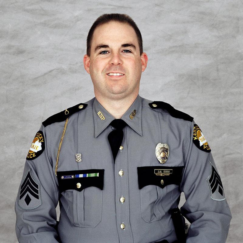 Sgt. David Gibbs (Source: Kentucky State Police)