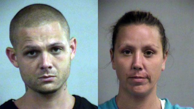 Jeffrey Hash and Morrissa Edmonson (Source: Louisville Metro Corrections)