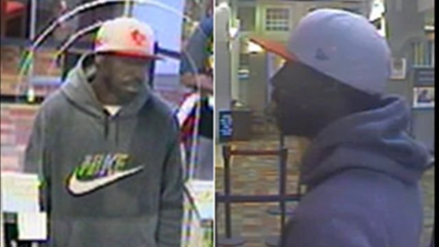 Surveillance photos of the suspect provided by Louisville Metro Police.