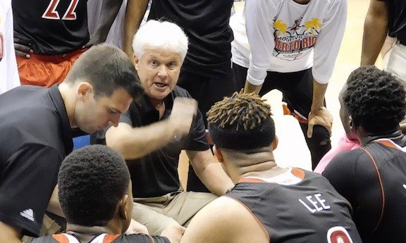 U of L assistant Ralph Willard is coaching the Cardinals in Puerto Rico this week. (WDRB photo by Eric Crawford)