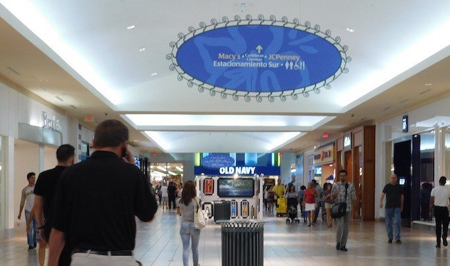 Yes. (Ugh.) Walking through a mall in San Juan. (WDRB photo by Eric Crawford).