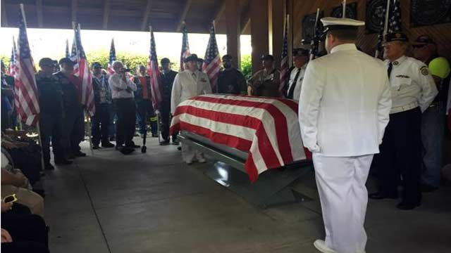 Don Kaas died July 29 at the Veterans Hospital in Lexington. Although he had no known family, hundreds of people showed up for his funeral.