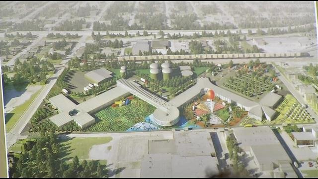 Renderings of now canceled FoodPort plans
