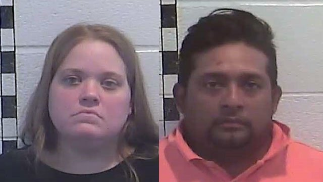 Melissa Torres and Rafael Mendoza-Anorve (Source: Shelby County Detention Center)