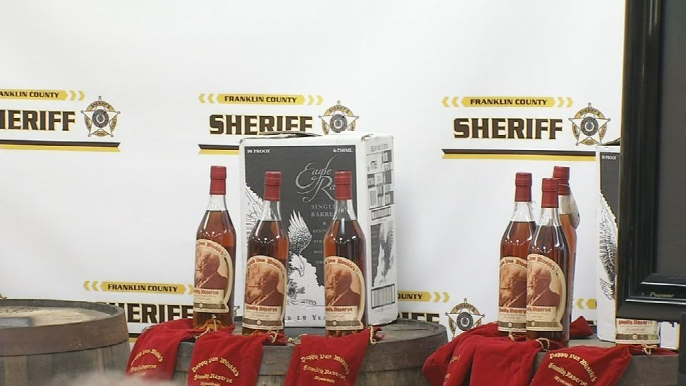 Nine people were initially indicted in April for the bourbon thefts and steroid ring, which police say was workingfor years.