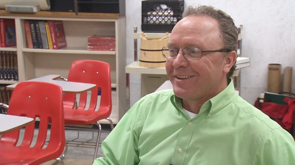 Ron Adkisson has taught taught at South Oldham for almost 30 years. He says the school was outdated needed upgrading.
