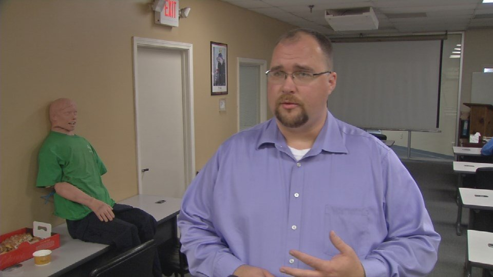 """""""We're offering free training for people interested in being EMTs so they can come in and work through the process and take a class at no charge,"""" said Joe Meyer, General Manager of Rural/Metro Ambulance of Louisville."""