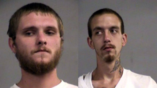 Cody Adams and Anthony Hollandsworth (Source: Louisville Metro Corrections)