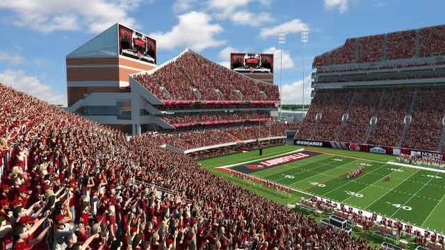 Rendering of Papa John's Cardinal Stadium expansion.