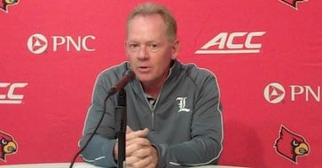 Louisville coach Bobby Petrino said the Cards will announce their depth chart for the Auburn game on Tuesday.