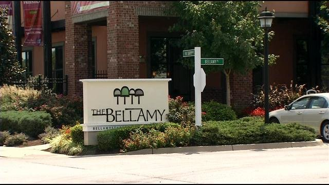 So far, there have been at least eight burglaries this month at The Bellamy, which is just off campus.