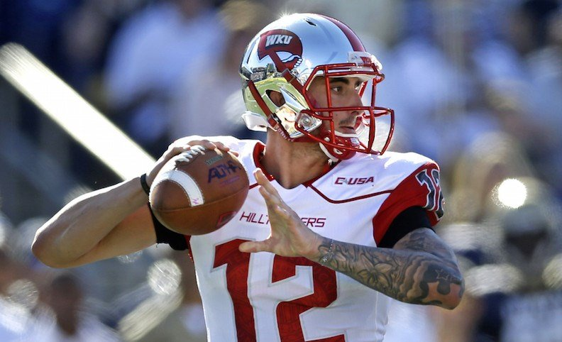 Brandon Doughty is looking to improve on his 49 TD season a year ago. (AP photo)