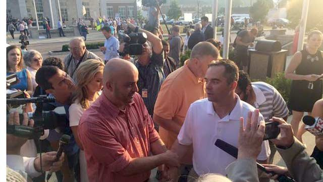 After 6 tries, James Yates & William Smith became the first gay couple to receive a marriage license in Rowan County, Ky.
