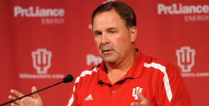 Kevin Wilson is trying to get Indiana to six wins in his fifth season.