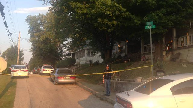 """According to a Sgt. Phillip Hensley, police shot and killed a man during a """"trouble call"""" about 3:45 p.m.at a residence on Ohio Street."""