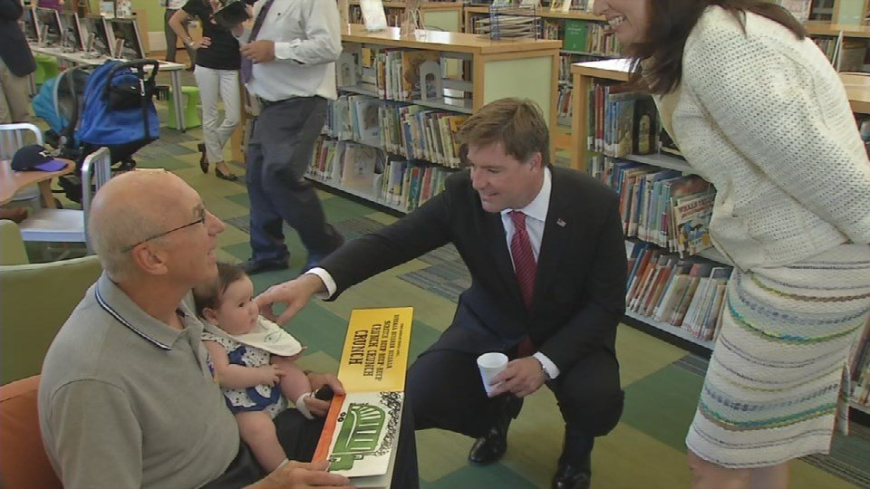 Kentucky gubernatorial candidate Jack Conway shares his plan for education. The Democratic candidate spoke at Louisville's Main Free Public Library downtown Tuesday morning.