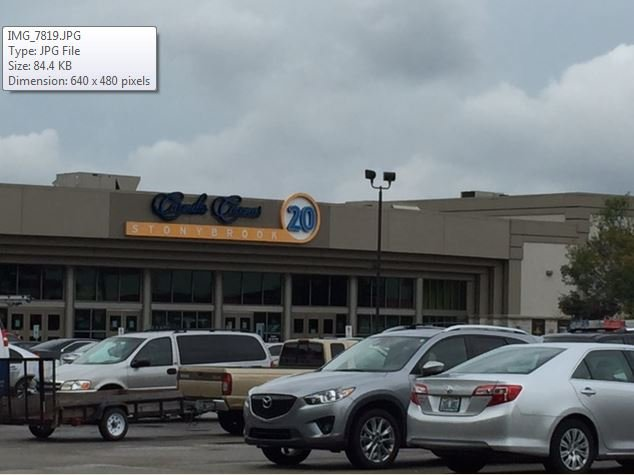 Stonybrook 20 Cinema in Jeffersontown (Photo by Valerie Chinn, WDRB News)