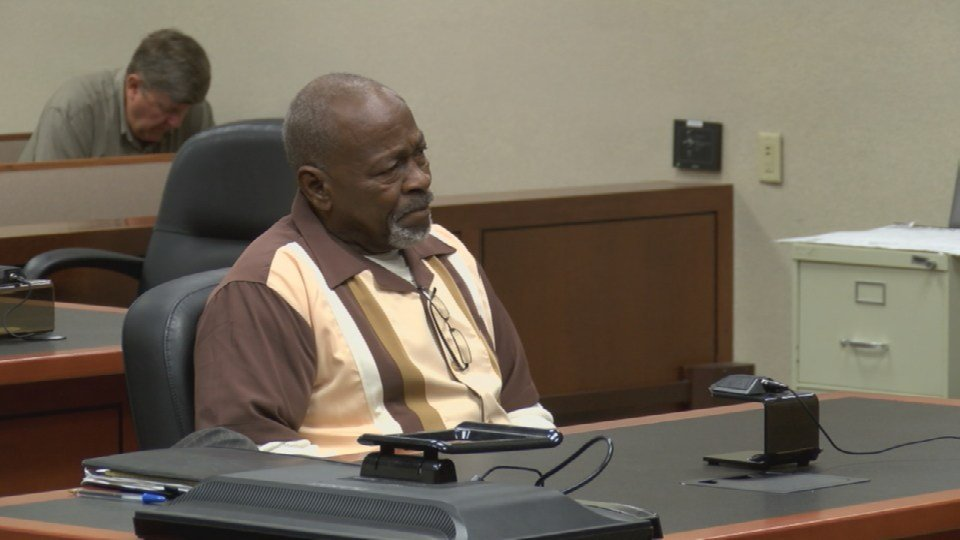 Joe Johnson in court during his sentencing hearing Sept. 10, 2015.