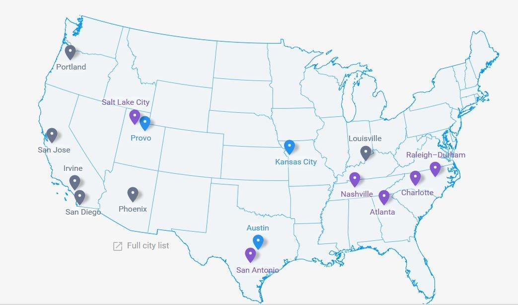 Louisville is now on the Google Fiber list