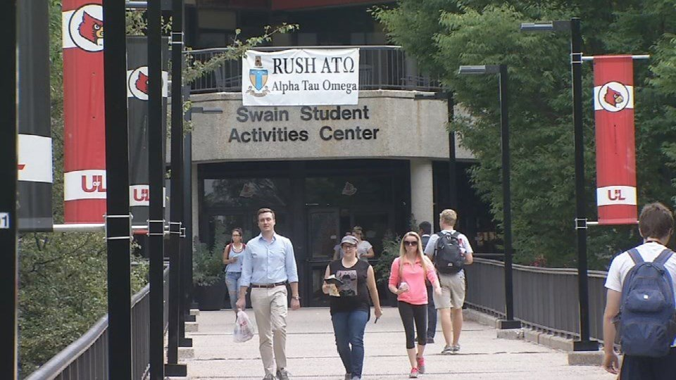 Thousands of students walk U of L's Campus every day, often times wearing headphones or looking down at their phones.