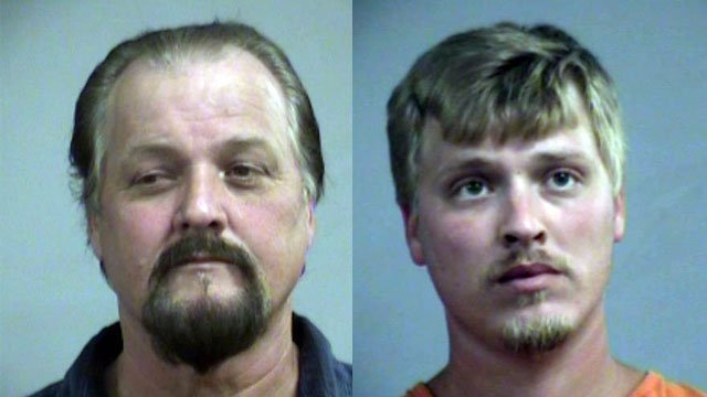 David and Dereck Highbaugh (Source: Louisville Metro Corrections)