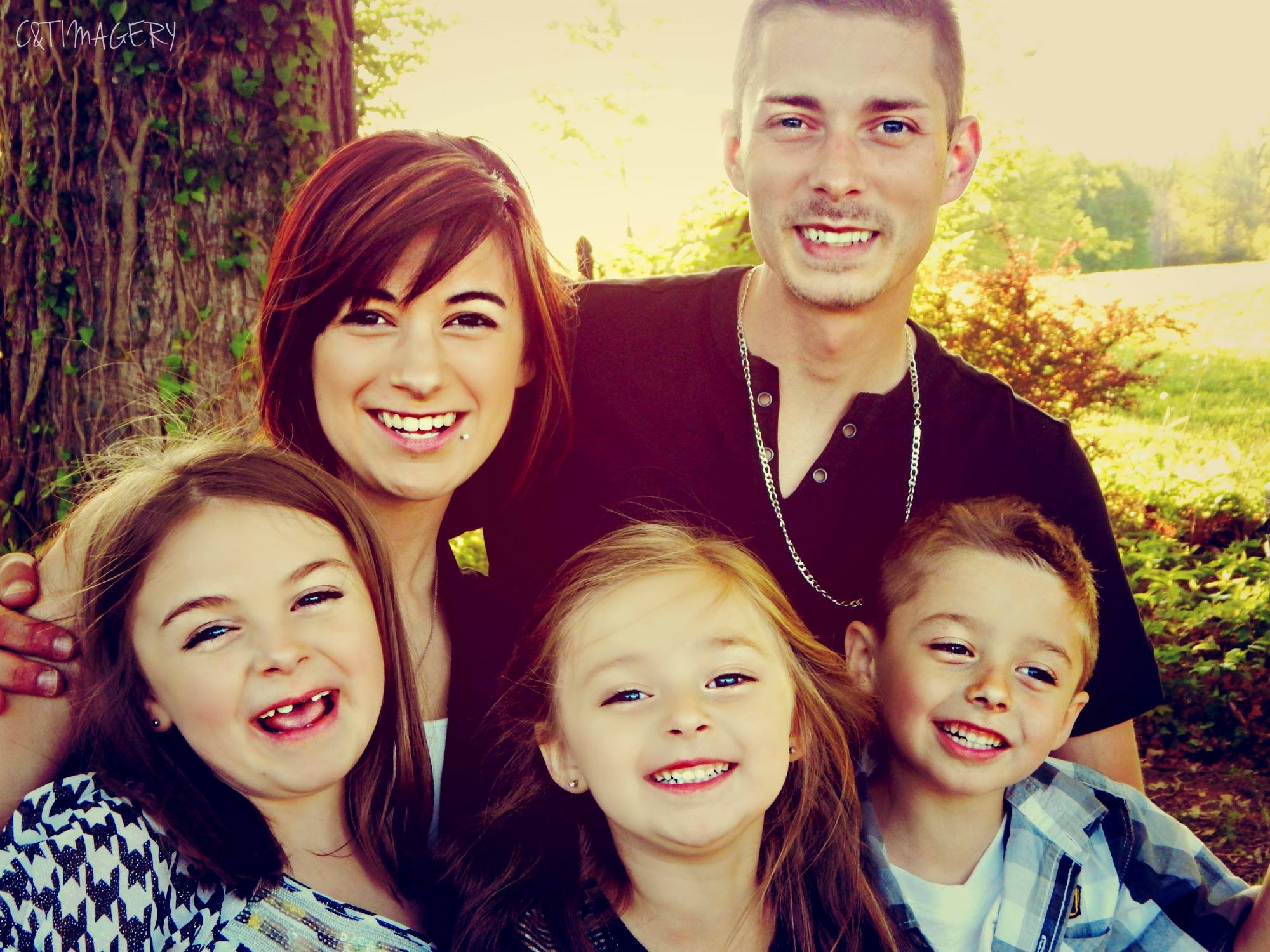 Cameron Pearson with his family. (Family photo)