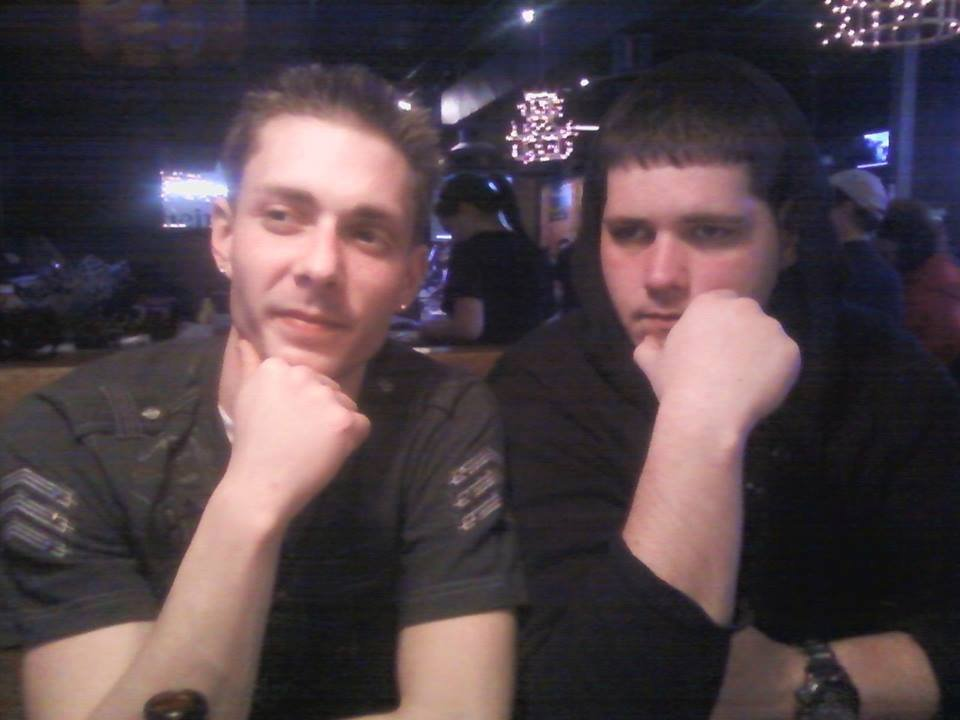 Cameron Pearson (left) with his brother Kyle (right). (Family Photos)