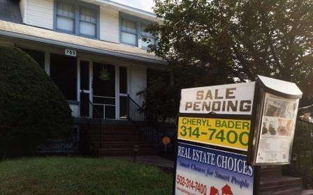 A sale pending at 709 Ashland Ave. in Louisville's Beechmont neighborhood (WDRB File Photo)