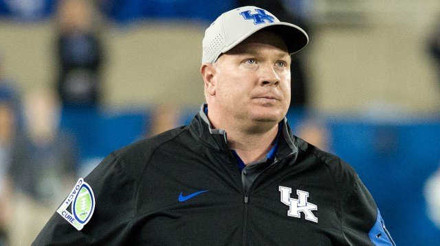 UK's Mark Stoops says he'll have no tolerance for any spillover of the off-the-field trouble between his team and EKU. (Photo special to WDRB by Adam Creech)